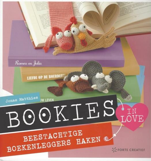 Bookies in love beestachtige boekenleggers haken