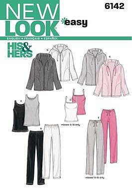 New Look - 6142 trainingsbroek, hemd en vest