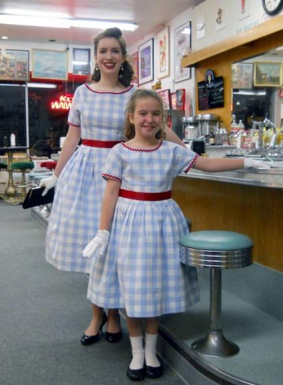 Sense and Sensibility 1958 Girl's Party Dress