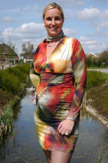 Abacadabra 1032 patroon tricot jurk
