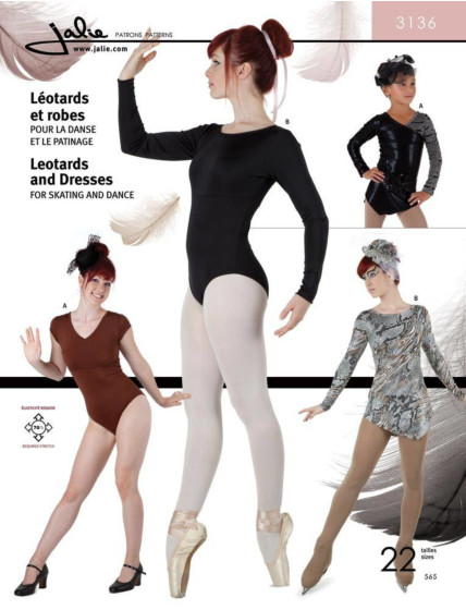 Jalie 3136 Balletpakjes en kunstschaatspakjes