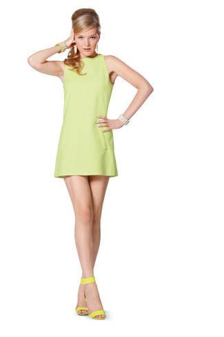 Burda 7056 jurken