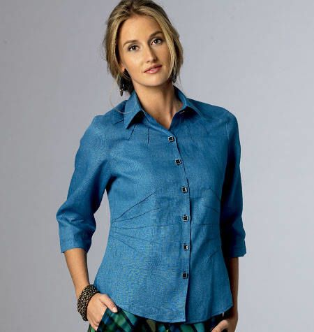 Butterick 6026 blouse