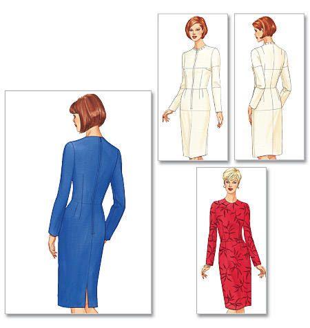 Butterick 5628 basispatroon jurk