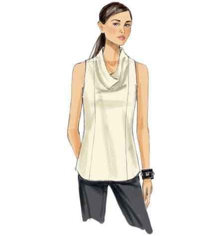 Vogue 9006 - Shirt