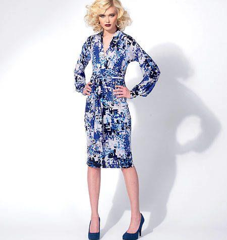 Vogue 8825 - Tuniek, jurk, en broek.