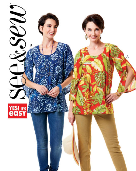 Butterick See & Sew 6544
