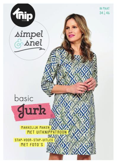 Knipmode Simpel & Snel basic jurk