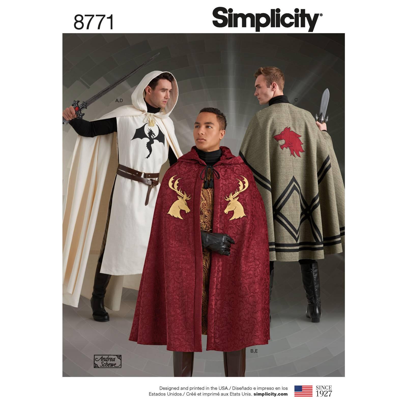 Simplicity 8771