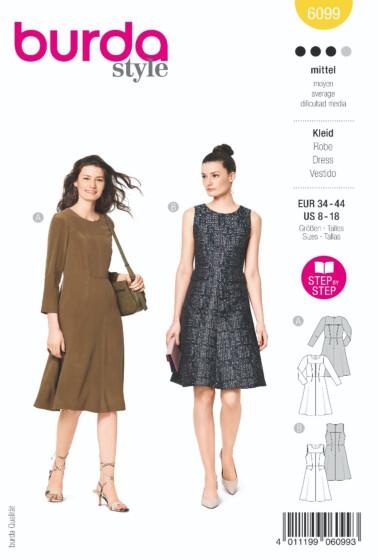 Burda - 6099 jurk