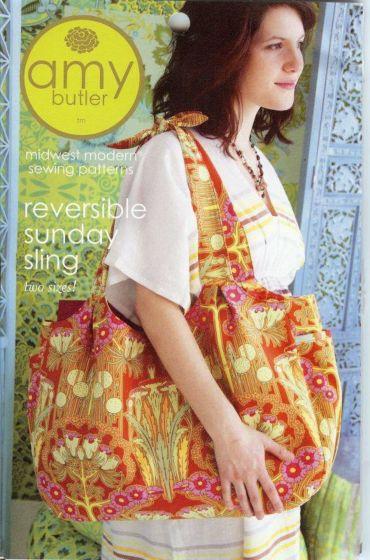 Amy Butler - Reversible Sunday Sling
