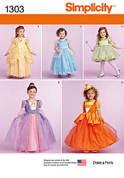 Simplicity - 1303 Prinsessen jurk