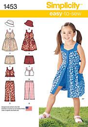 Jurkjes, tops, broeken, korte broeken en hoeden