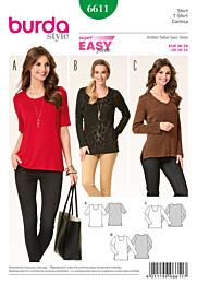 Burda - 6611 Shirt