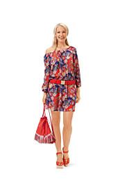 Burda - 6684 Shirt, top, jurk