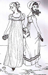 Sense and Sensibility - Regency Gown