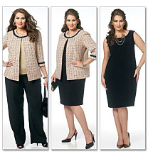 Butterick - B5719 Jasje, jurk, rok en broek