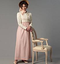 Butterick - B6074 jurk, jasje