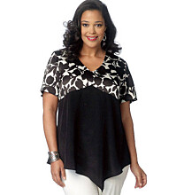 Butterick - B6187 Top