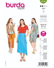 Burda - 6119 jurk en top