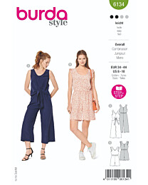 Burda - 6134 jumpsuit