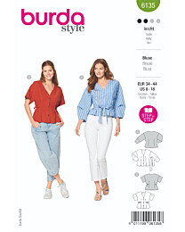 Burda - 6135 blouse