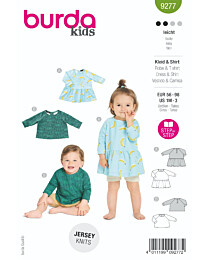 Burda - 9277 jurk en top