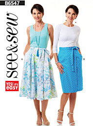 Butterick See & Sew - 6547