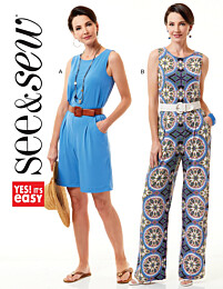 Butterick See & Sew - 6548