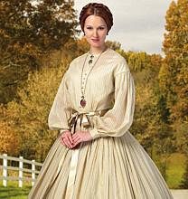 Butterick 5830 - Historische jurk geïnspireerd door de periode van de Amerikaanse burgeroorlog.