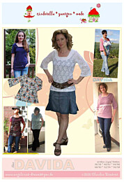 Cinderella Zwergenmode Davida dames shirt en tuniek