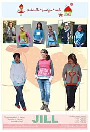 Cinderella Zwergenmode Jill dames hoodie en sweatvest