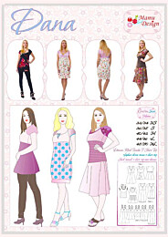 MaMu Design DANA jurk, tuniek, ballontuniek en t-shirt