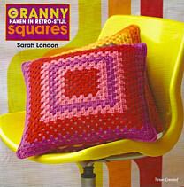 Granny squares haken in retro stijl