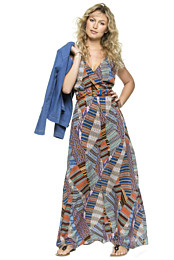 Knipmode 1605 - 24 Maxidress