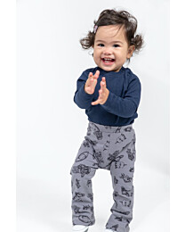 KNIPkids 0520 - 02 - Flared legging