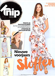 Knipmode Stoffentrends lente/zomer 2018