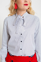 knipmode 0420 - 19 blouse