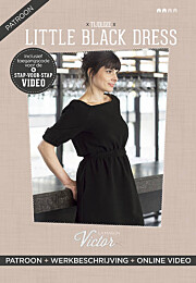 La Maison Victor Little Black Dress