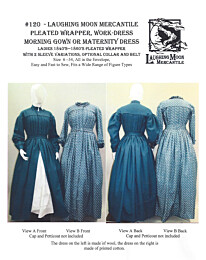Laughing Moon 120 Wrapper dress