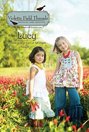 Violette Field Threads Lucy Lange broek en driekwart broek