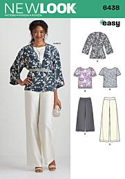 New Look - 6438 Shirt, broek, vest