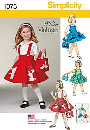 Simplicity - 1075 Vintage jurk
