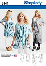 Simplicity - 8141 Tuniek, jurk