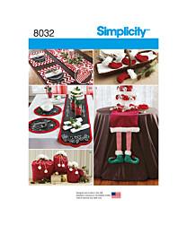 Simplicity - 8032 kerst tafelkleed, placemat