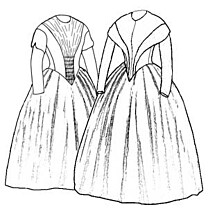 Truly Victorian 454 1845 German Day Dresses