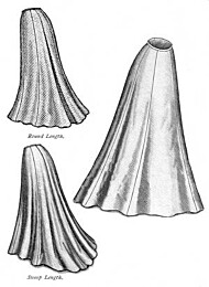 Truly Victorian TVE21 1903 Trumpet Skirt