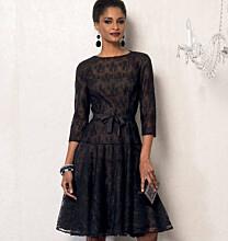 Vogue 8943 kanten jurk