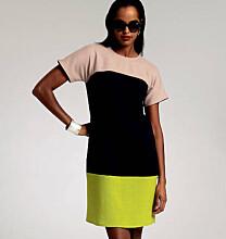 Vogue 8805 jurk in color blocking