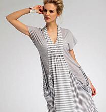 Vogue 8813 wijde jurk met smock